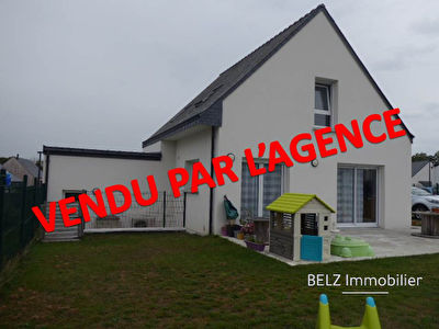 TEXT_PHOTO 0 - Belz 56550 RIA d'ETEL MAISON CONTEMPORAINE  de 2018 3 chambres dont 1 en RDC  GARAGE TERRAIN de 485m²